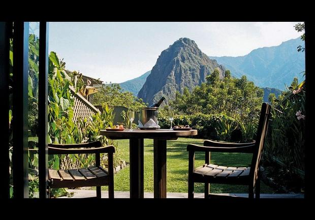 Photo by: Machu Picchu Sanctuary Lodge<br />Machu Picchu Sanctuary Lodge-<br />Location: Machu Picchu, Peru <br> <br> View: Machu Picchu ruins