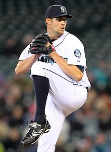 Mariners' Wilhelmsen is back from the wild
