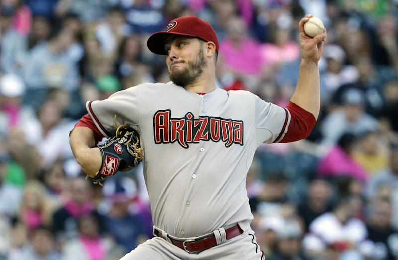 Miley shuts down White Sox in D-backs 4-3 win