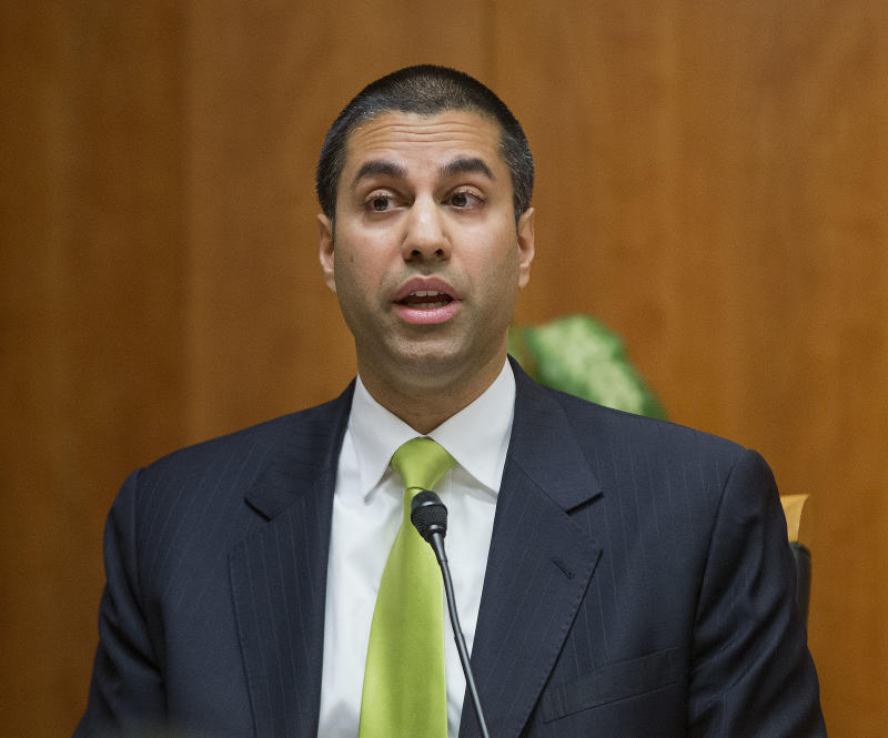 FCC Chairman Frames His Plan For Internet As Boon For Privacy