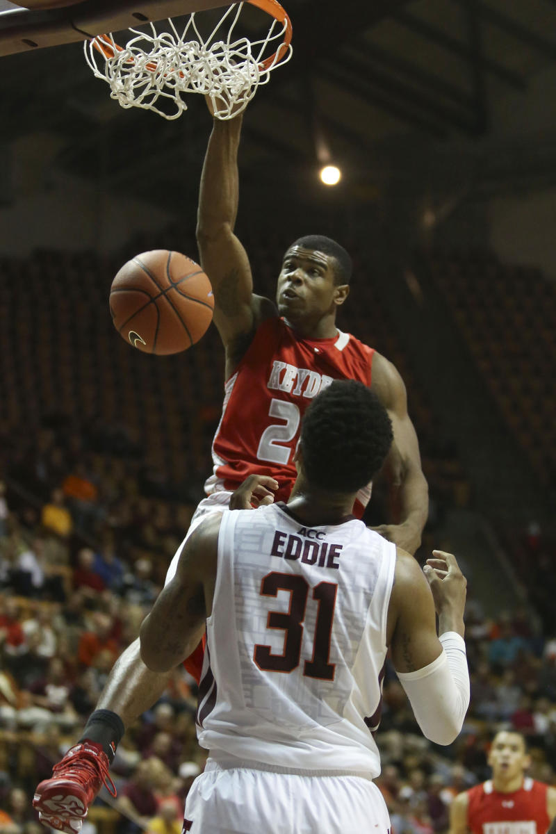 Eddie leads Virginia Tech to a 105-92 win over VMI