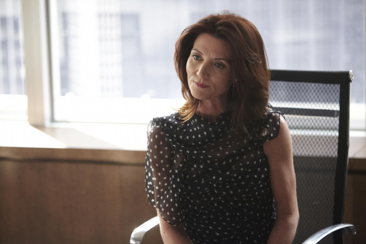 "MIchelle Fairley as Ava Hessington in the ""Suits"" Season 3 episode, ""I Want You To Want Me."""