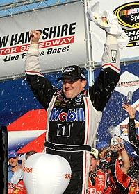 Stewart goes 2-for-2, takes points lead
