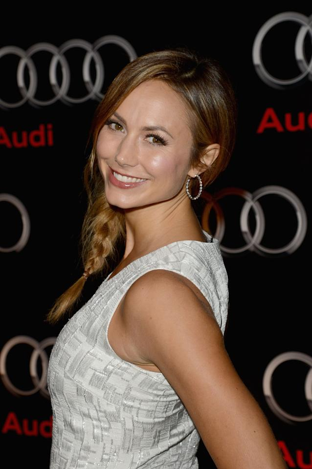 NEW ORLEANS, LA - FEBRUARY 02:  Stacy Keibler attends the Audi Forum New Orleans at the Ogden Museum of Southern Art on February 2, 2013 in New Orleans, Louisiana.  (Photo by Jason Merritt/Getty Images for Audi)
