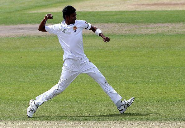Sri Lanka's bowlers strike back after Dhawan's hundred in third Test