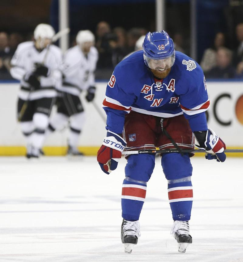 Rangers buy out contract of veteran Brad Richards