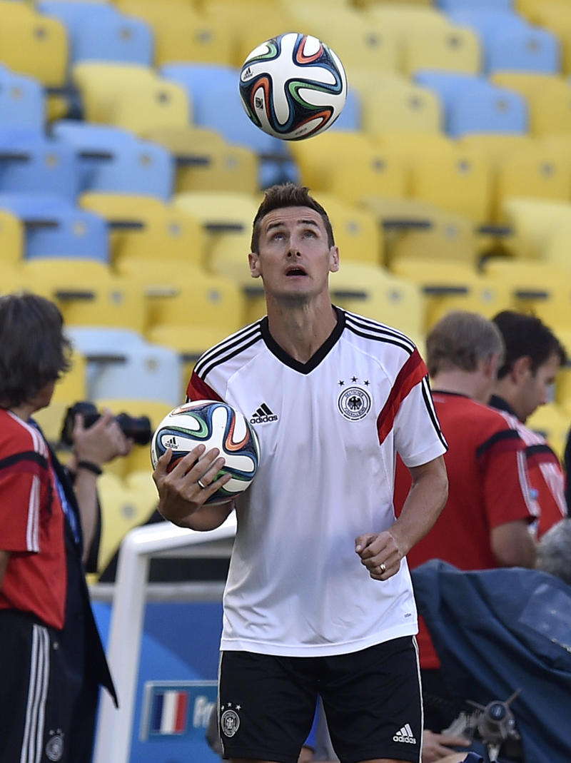 Klose back for Germany vs France in World Cup