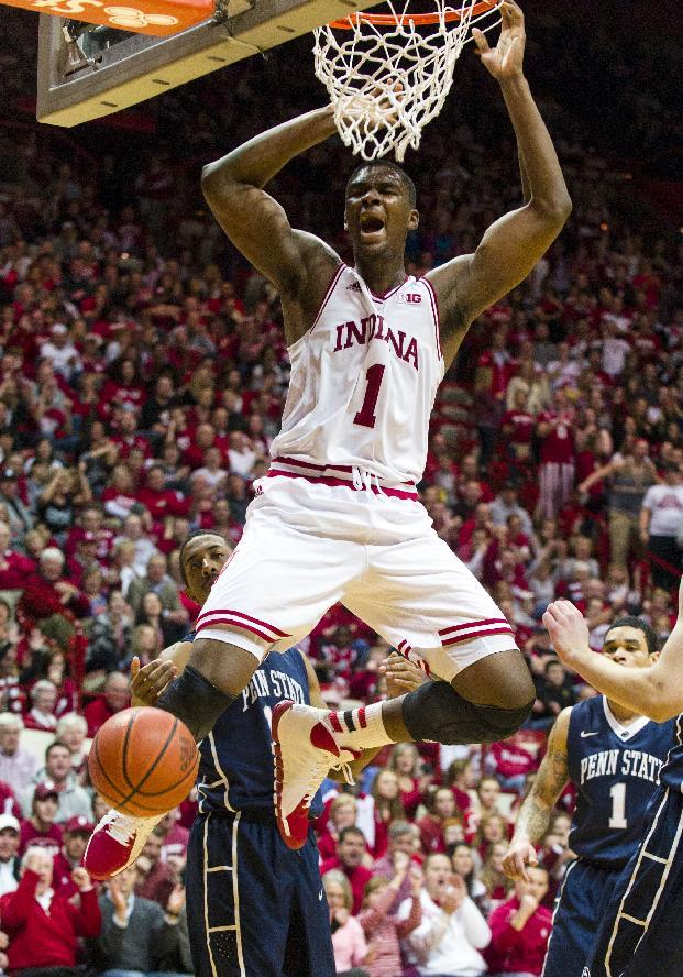 Indiana says 2 will transfer as Vonleh ponders NBA