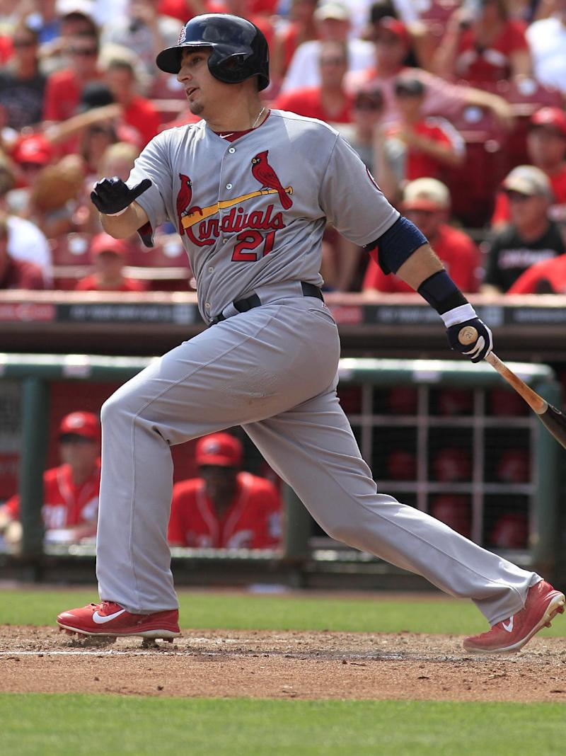 Cardinals rule out Allen Craig for division series