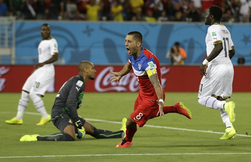 FIFA times Clint Dempsey goal at 30 seconds