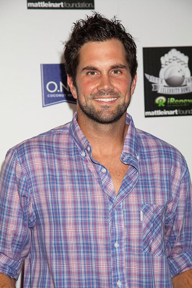 """Matt Leinart attends the Matt Leinart Foundation's Fifth Annual """"Celebrity Bowl"""" at Lucky Strikes on July 14, 2011 in Hollywood, California.  (Photo by Imeh Akpanudosen/Getty Images)"""