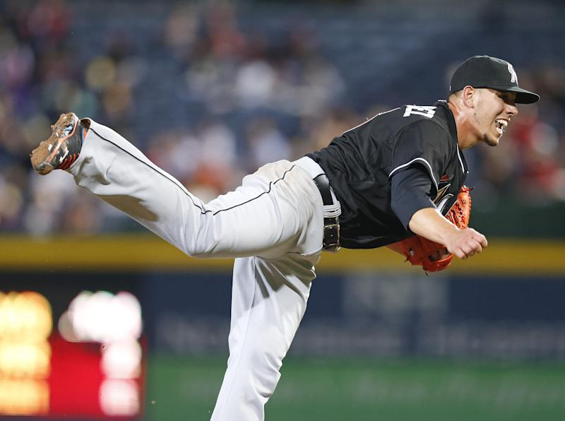 Jose Fernandez Ks 14, Marlins shut out Braves 1-0