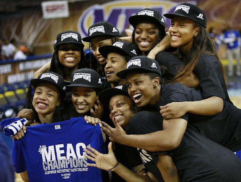 Hampton beats Coppin State 50-47 for MEAC title
