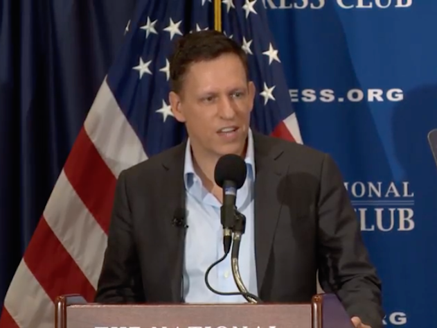 Tech Billionaire Thiel Says Trump Movement 'Not Going Away'