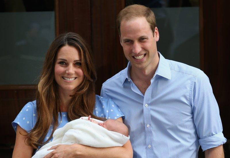 kate william royal baby leave hospital