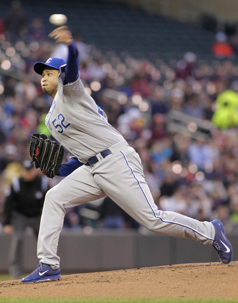 Chen struggles early, Royals routed 10-1 by Twins