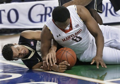 Wells leads Maryland to 75-62 win over Wake