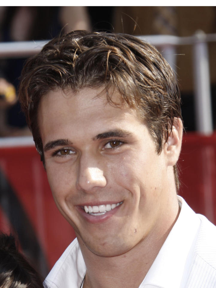 Brady Quinn, NFL quarterback and boyfriend of American gymnast Alicia Sacramone (Matt Sayles/Associated Press)