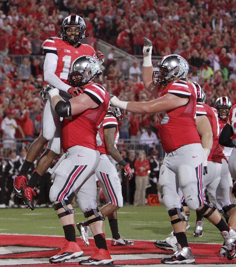 Buckeyes like to run then throw over a defense