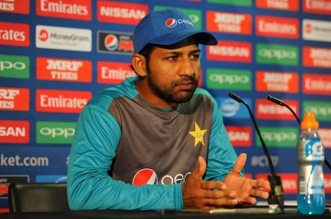 Sarfraz Ahmed says no pressure on Pakistan in ICC Champions Trophy