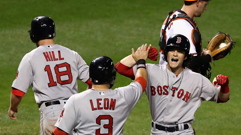 Red Sox get eighth straight win
