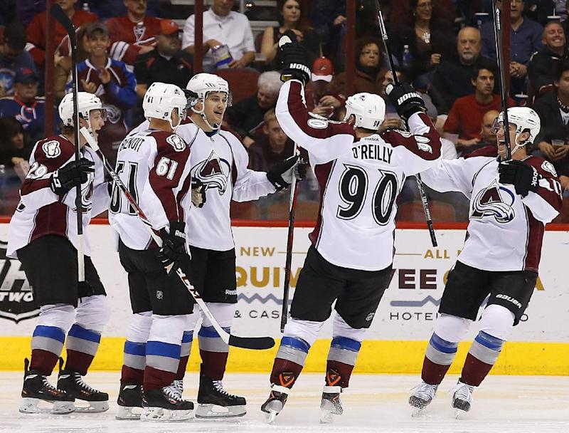 Avalanche beat Coyotes 4-3 in overtime