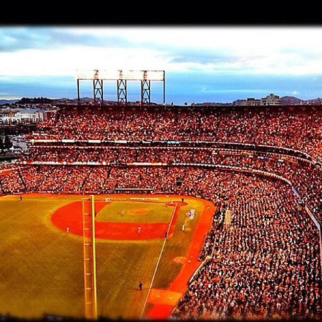"""Orange October"" #worldseries #giants #tigers (via @kevinkaduk)"