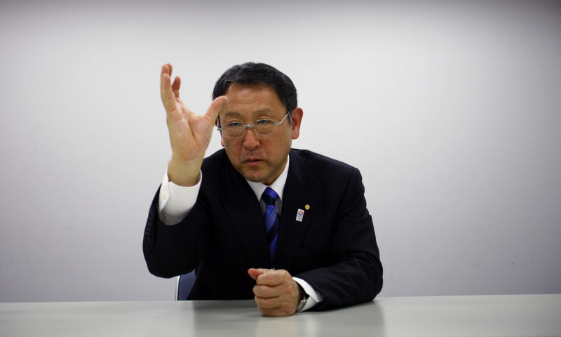 AP Interview: Toyota chief stresses safe growth