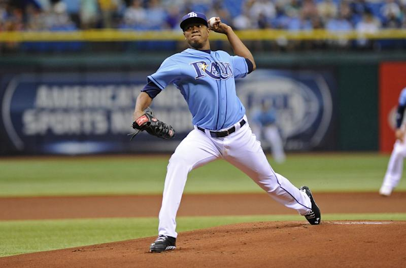 Romero helps Rays over O's 3-1 to maintain WC lead
