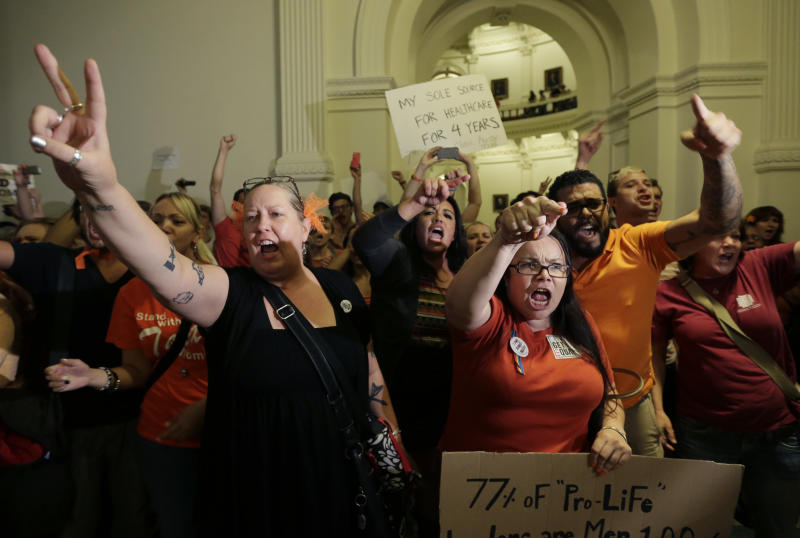 Texas House passes abortion bill; Senate next stop