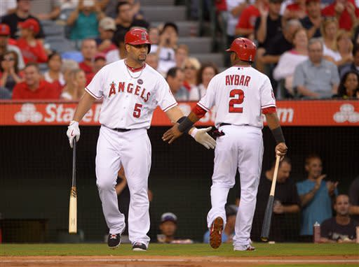 Angels host Cardinals for 1st time, win 5-1