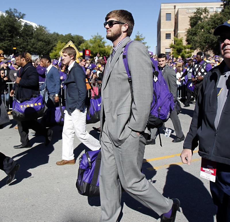 No. 15 LSU, Arkansas ready to play for 'Boot'