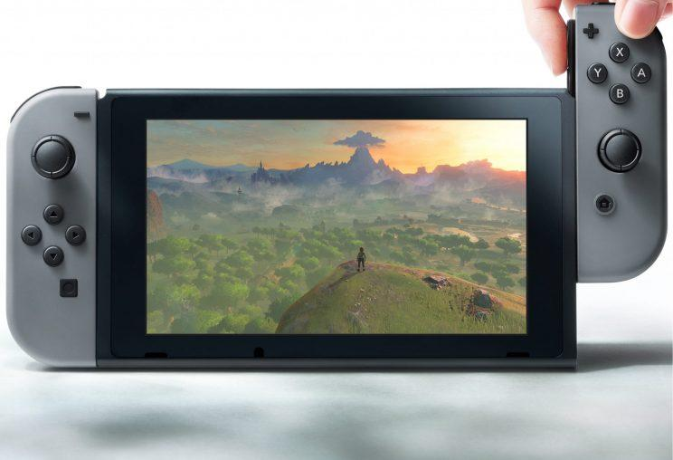 Nintendo Switch tablet.