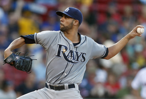 Price helps Rays beat Red Sox _ again _ 2-1