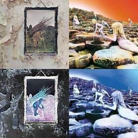 Led Zeppelin Reissue Program Continues With Deluxe Editions of Led Zeppelin IV and Houses Of The Holy Produced and Newly Remastered by Jimmy Page, Each With Previously Unreleased Companion Audio