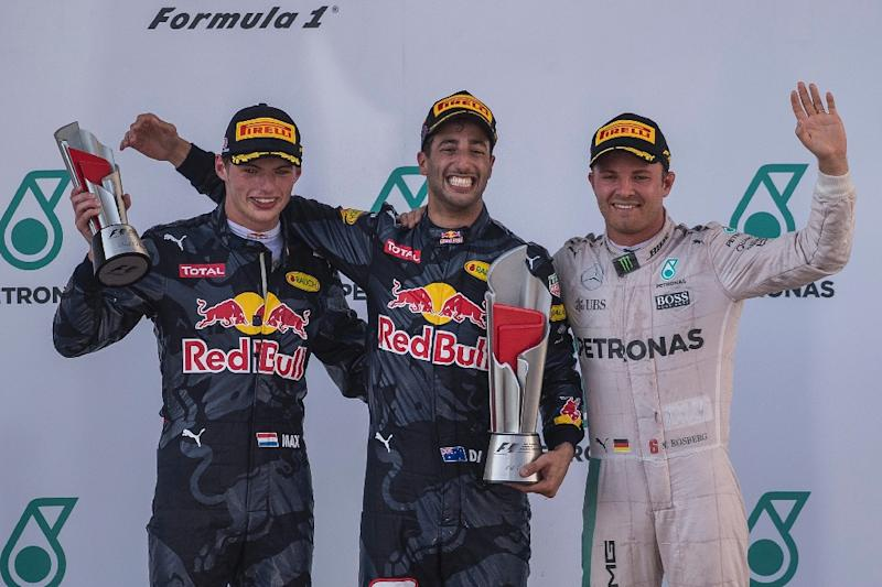 1-2 finish for Red Bull Racing at 2016 Malaysian Grand Prix