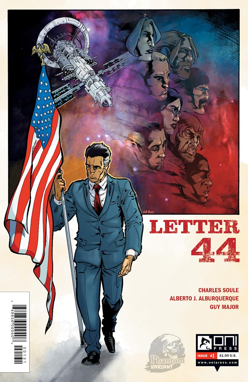 In 'Letter 44,' a secret threatens a US president