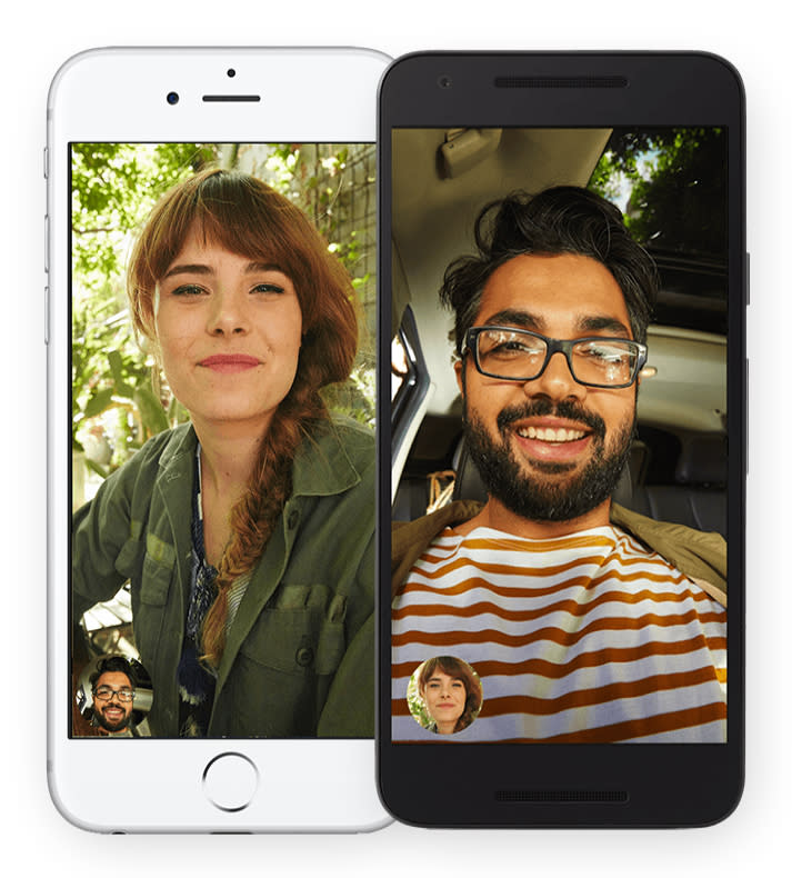Knock Knock : Google Duo arrives