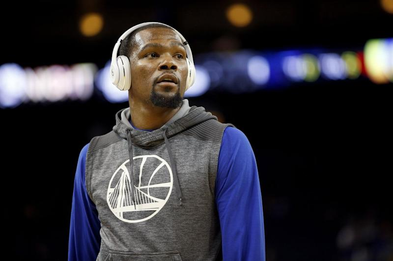 Durant optimistic to return for Game 3 at Portland
