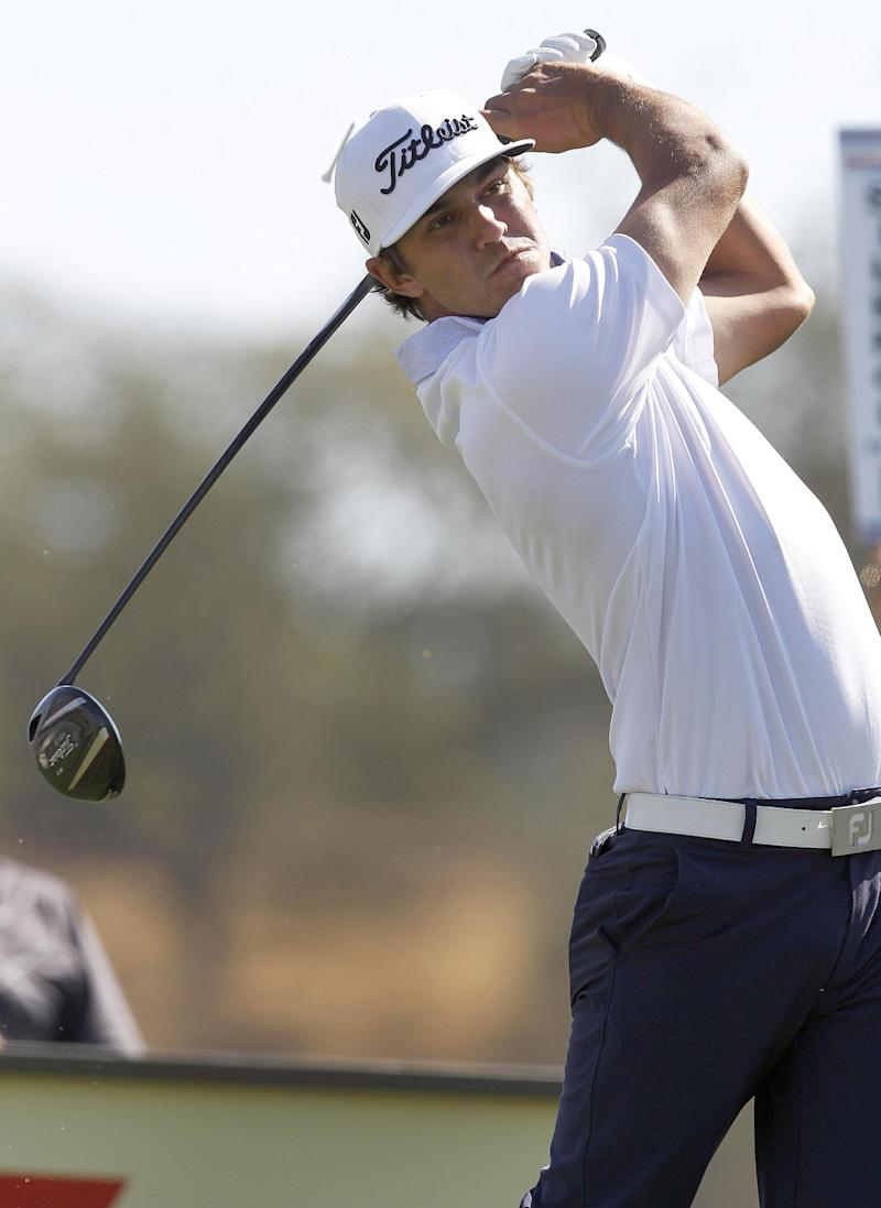 Koepka round away from a PGA Tour card