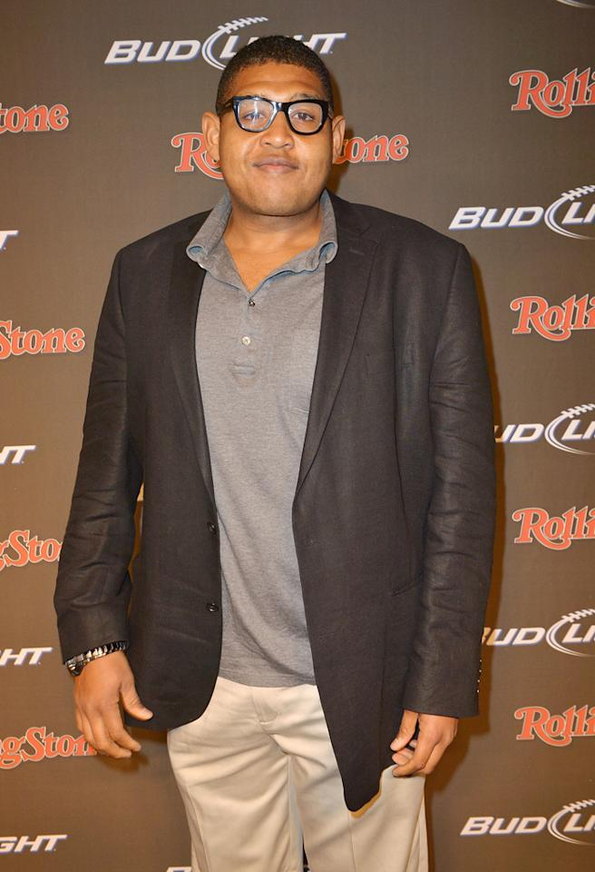 NEW ORLEANS, LA - FEBRUARY 01:  Actor Omar Miller arrives at the Rolling Stone LIVE party held at the Bud Light Hotel on February 1, 2013 in New Orleans, Louisiana.  (Photo by Gustavo Caballero/Getty Images for Rolling Stone)
