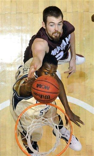 Montana beats in-state rival Montana State 67-58