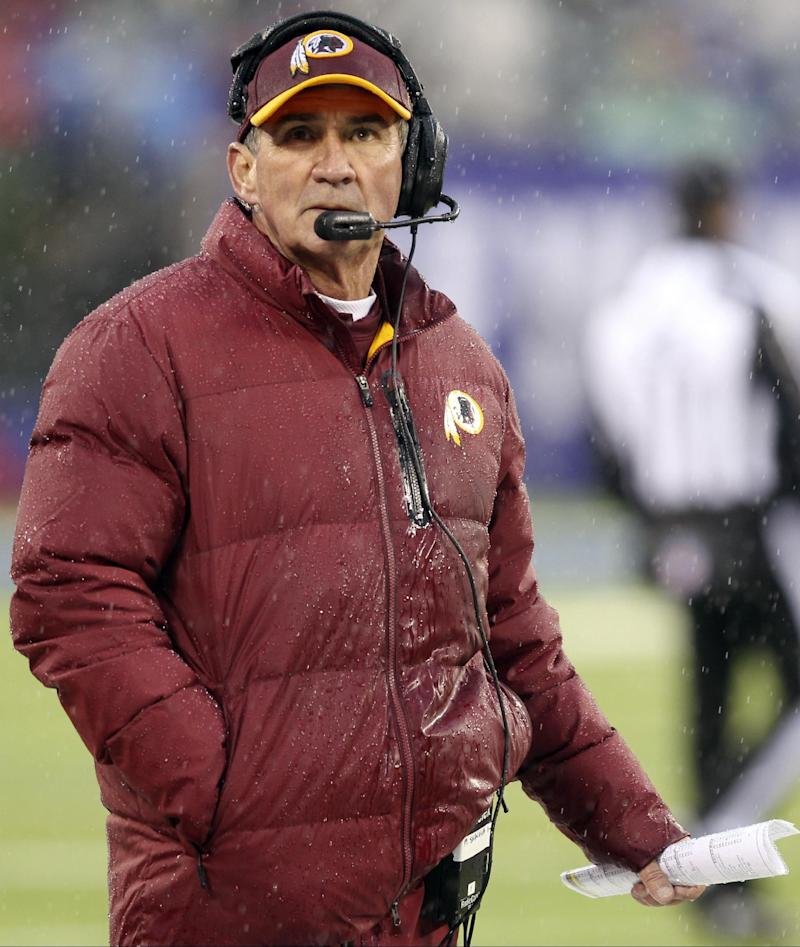 End of term: Redskins fire coach Mike Shanahan