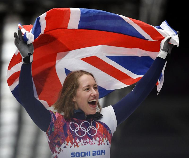 Yarnold wins skeleton gold; Pikus-Pace gets silver