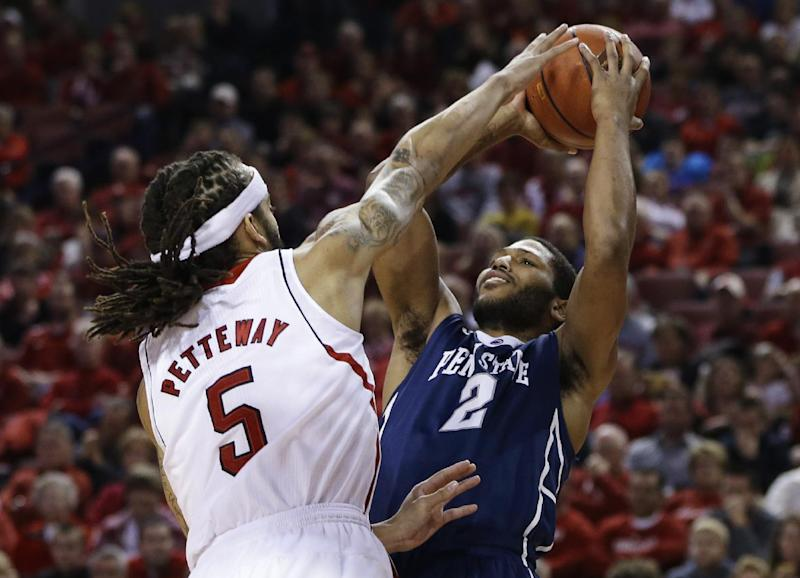 Cornhuskers win 4th in a row, 80-67 over Penn St