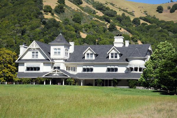 "Skywalker Ranch, Marin County  Skywalker Ranch is the headquarters of the filmmaker George Lucas, the man behind ""Star Wars"" and ""Indiana Jones,"" franchises so lucrative that they've given him a net worth of $3.2 billion. The ranch, on a bucolic parcel of land in Marin County, Calif., has a barn, vineyards and garden."