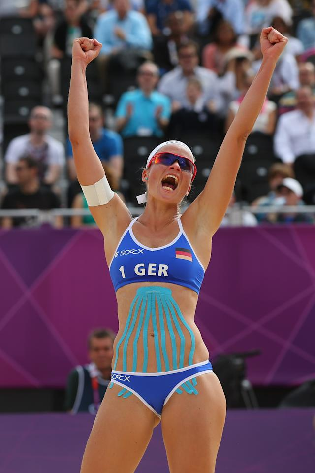 Katrin Holtwick (Photo by Alexander Hassenstein/Getty Images)