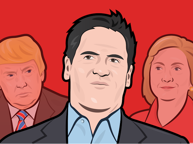Mark Cuban will pay Trump $10M for interview