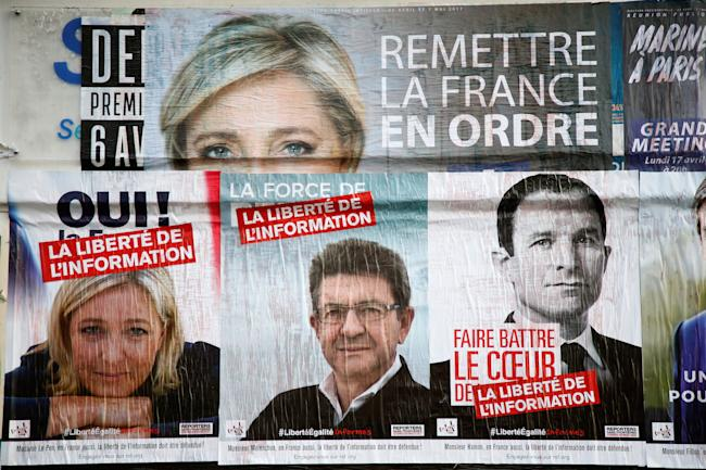 'I will protect you!' Le Pen tells voters ahead of presidential election