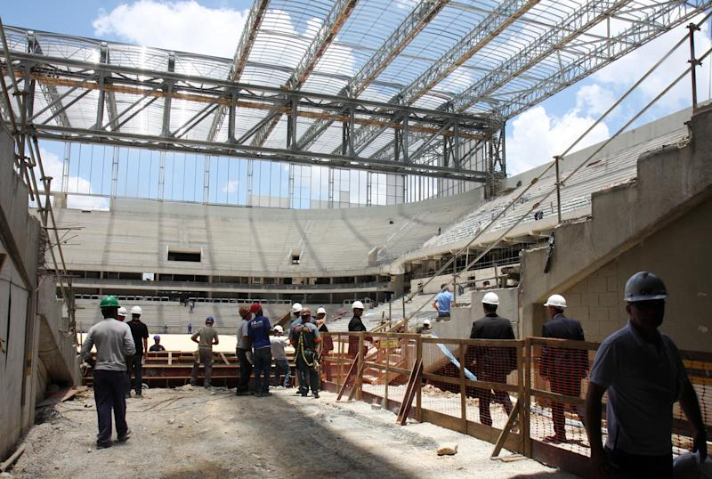 Another World Cup venue ready but problems persist